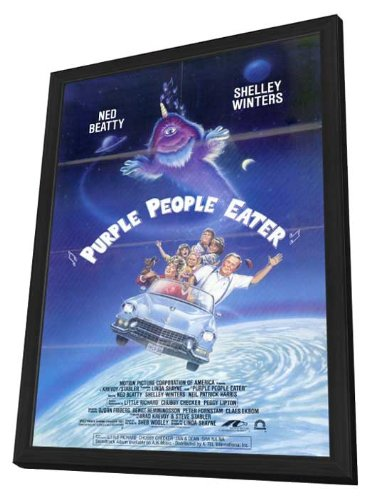 Purple People Eater 11 x 17 Movie Poster