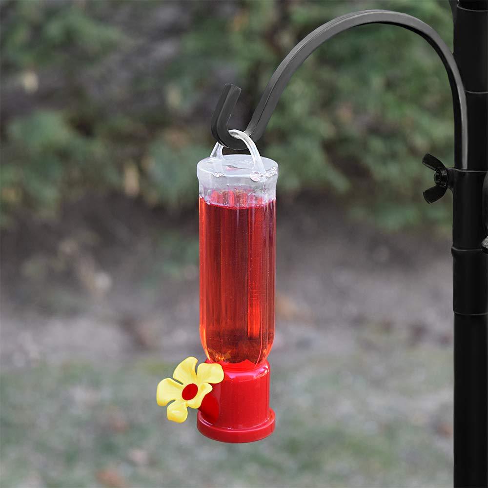 GrayBunny GB-6846B Mini Hummingbird Feeders Set of 4 Includes Hanging Wires