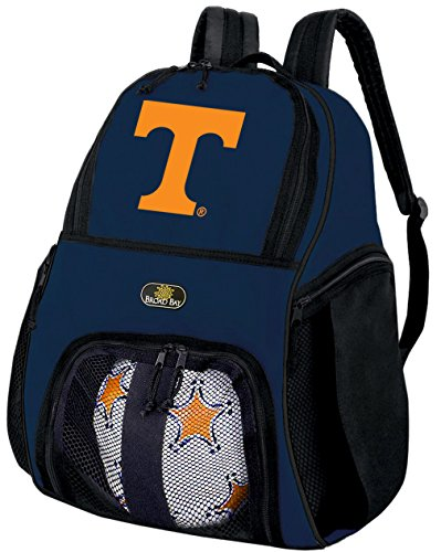 Broad Bay University of Tennessee Soccer Backpack Volleyball Bag Navy by Broad Bay