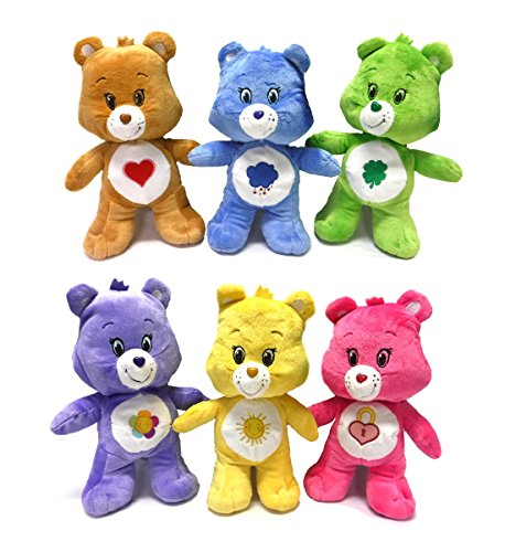 Care Bear Plush (Care Bears Standing Plush Dolls (Pack of 6))