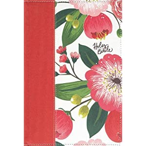 The NKJV, Woman's Study Bible, Cloth over Board, Pink Floral, Full-Color, Indexed: Receiving God's Truth for Balance, Hope, and Transformation