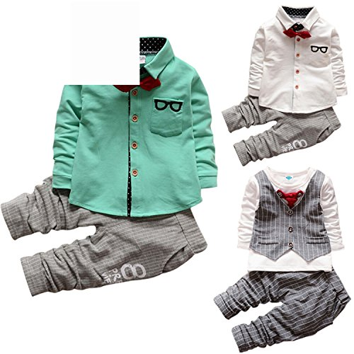 ODFAPP Adorable 2016 New Fashion Kids Clothes Spring Autumn Baby Boys Sets Kids Long Sleeve Sports Suits Children Hoodies+Pants 2Ps Boys Clothes navy4T - Asheville Nc Outlet
