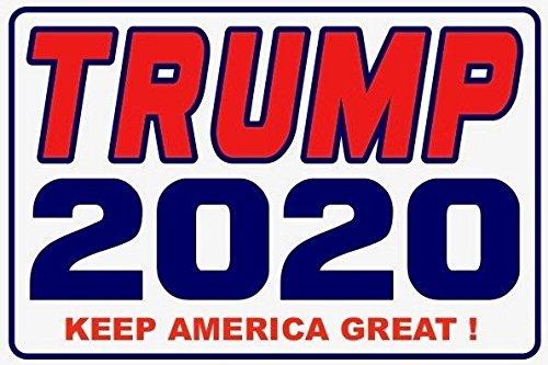 .Vinyl Sticker Decals 4x2.5 .12 Pack Keep America Great Trump.2020