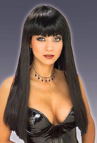 n's Cheri Wig, Black, One Size ()