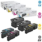 LD Compatible Xerox 6022 & 6027 Set of 5 Laser Toner Cartridges Includes: 2 106R02759 Black, 1 106R02756 Cyan, 1 106R02757 Magenta, 1 106R02758 Yellow