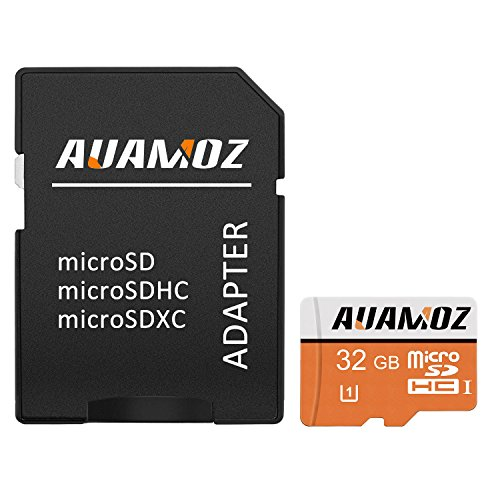 Micro SD Card 32GB,AUAMOZ Micro SDHC Class 10 UHS-I High Spe
