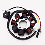 Race-Guy Round Plug 6 Pin DC CDI Box For GY6 50cc 125cc 150cc Engine Chinese Moped Scooter ATV Quad Go Kart Motocross Motorcycle