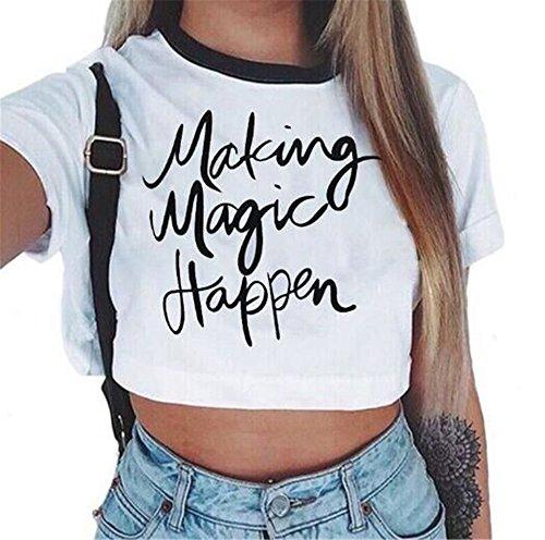 COCO clothing - Camisas - Wrap - para mujer Magic
