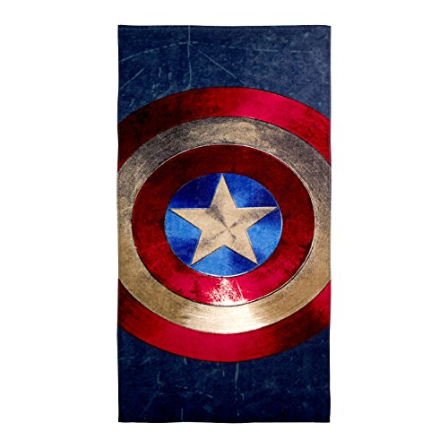 Marvel Captain America Shield Beach Towel