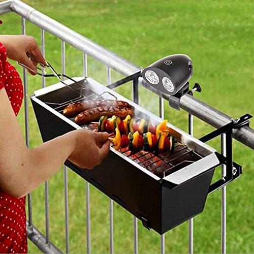 Kohree bright barbecue grill light handle mount bbq light for kohree bright barbecue grill light handle mount bbq light for grilling10 led lights aloadofball Gallery