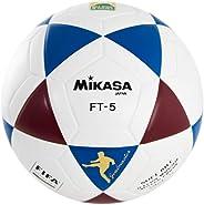 Bola de Futevôlei FT-5 Azul, Branca e Vinho Mikasa