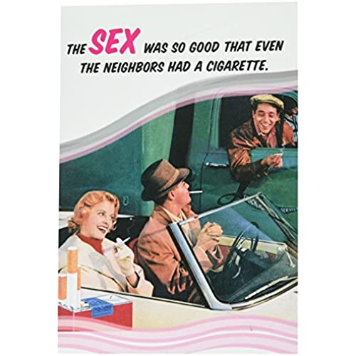 NobleWorks 2117 Neighbors Had A Cig Funny Valentine's Day Unique Greeting Card, 5 x 7 Sales