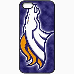 Personalized iPhone 5 5S Cell phone Case/Cover Skin 1365 denver broncos Black