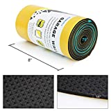 Car Door Protector Bump Body Guard,79'x 8'x 1/6' Sectional Foam Sticking Garage Wall Parking Protector Collision Avoidance Waterproof Foam Protector Wall Corner Protecting Your Car Doors (1 pack)
