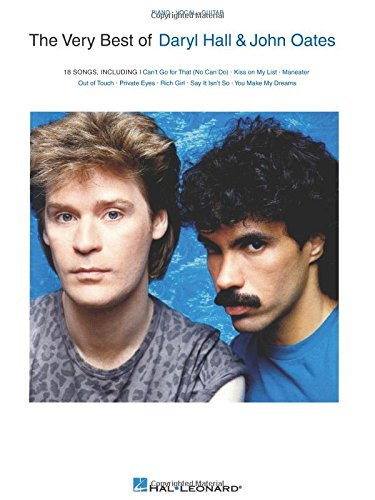 The Very Best of Daryl Hall & John (Musical Hall Piano Music)