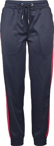 Urban Classics Ladies Cuff Track Pants, Pantalones Deportivos para Mujer