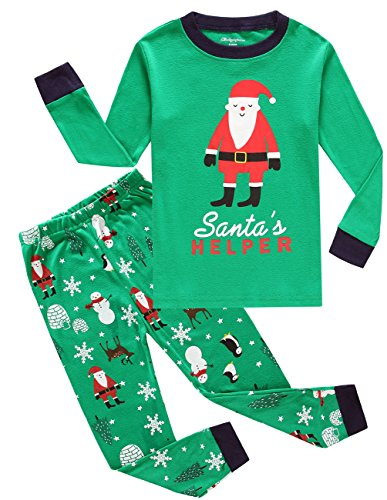 Little Pajamas Toddler Christmas Pajamas Big Boys Pjs Cotton Kids Sleepwear Clothes Size 8T