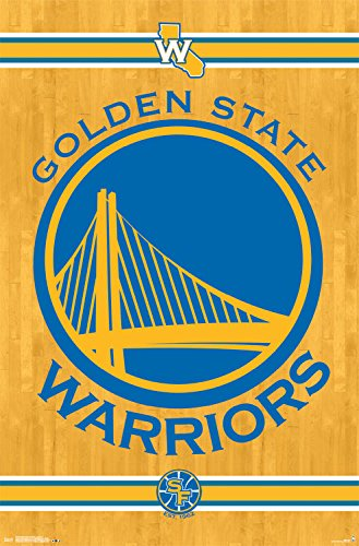 Trends International Golden State Warriors Logo Wall Poster 22.375
