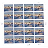 Air Force One Priority Mail Collectible Sheet of Twenty $4.60 Stamps Scott 4144