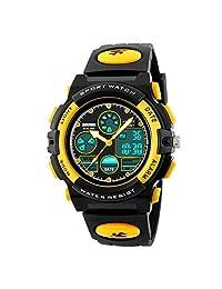 Crispsound SKMEI 1163 FashionCute niños Elegantes Mira LED Digital Reloj de Pulsera electrónica a Prueba de Agua para niños Relojes Deportivos
