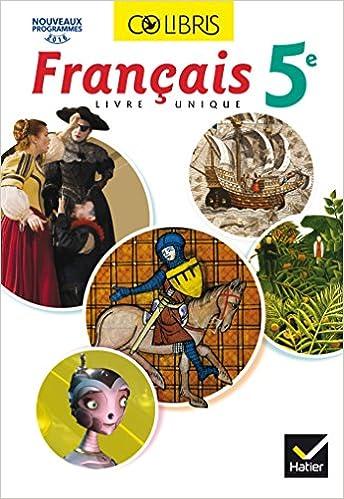Amazon Fr Colibris Francais 5e Manuel De L Eleve Inclus