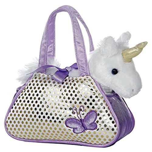 "Aurora Unicorn Fancy Pal Pet Carrier 8"" by Aurora"