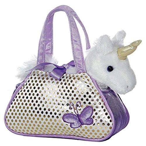 Aurora World 8-inch Fancy Pal Unicorn (Purple/White) Aurora 8' Fancy Pals