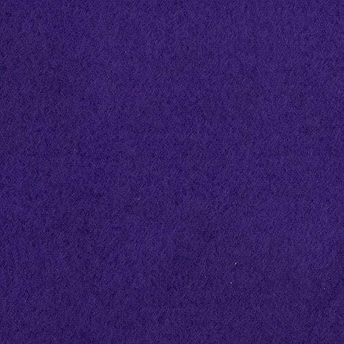 Fabric Merchants Warm Winter Fleece Solid Purple ()