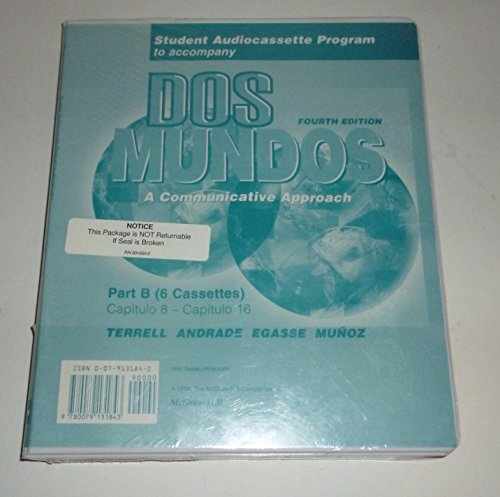 DOS Mundos: A Communicative Approach : Chapter 8-Chapter 16