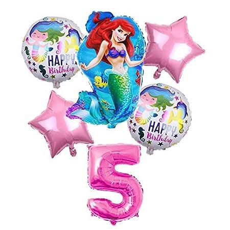 LIZHIOO 6 Unids/Lote Papel de Sirena de Dibujos Animados ...