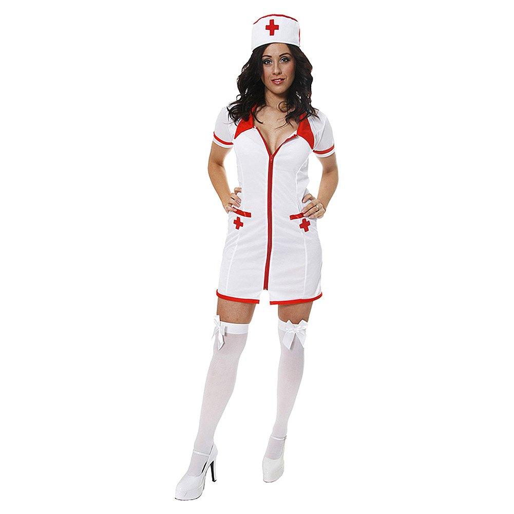sc 1 st  Amazon UK & Adult Nurse Fancy Dress Costume (Plus Size): Amazon.co.uk: Toys u0026 Games
