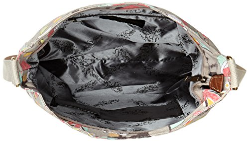 SwankySwansBiba Dog Cupcake Classic Large - Bolso bandolera mujer Gris - gris (gris)