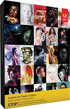 Adobe CS6 Master Collection Student and Teacher Edition Mac