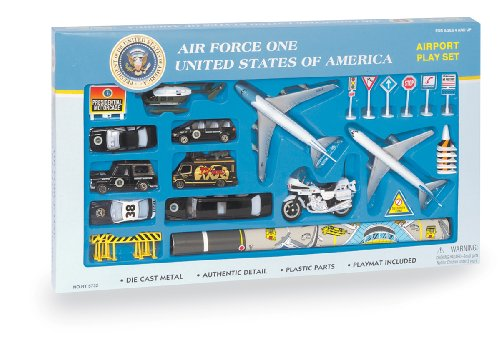Daron Air Force One 22 Piece Play Set (Daron Worldwide Trading Air Force Vehicle)