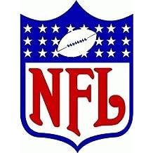 """NFL Football Logo Decal Bumper Sticker 4"""" x 5"""""""