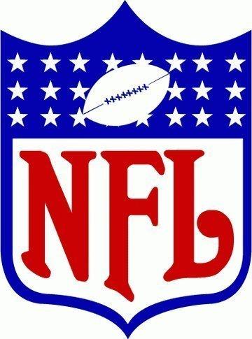 amazon com nfl football logo decal bumper sticker 4 x 5 home rh amazon com nfl logos clip art free nfl logo clip art free