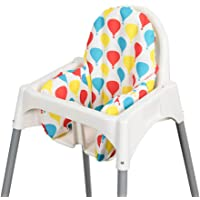 Dadouman Inflatable Supporting Cushion for IKEA ANTILOP High Chair, Baby High Chair Cushion with Colorful Printing…