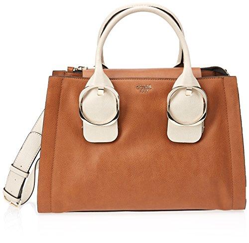 GUESS Hwvg6784070 - Bolsos de mano Mujer Marrón (Cognac Multi)