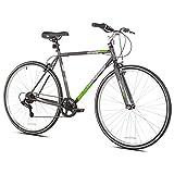 """Kent 62702 Front Runner Hybrid Bike, White, 21.25""""/One Size"""