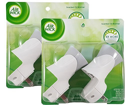 Air Wick 78048 Air Wick Scented Oil Warmers 2 Count...(2 Packs of 2)