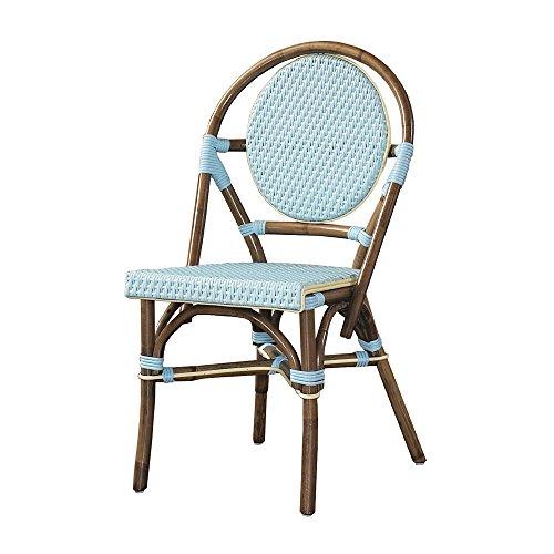 Padma's Plantataion Paris Bistro Chair, Blue (Paris Chairs Bistro)