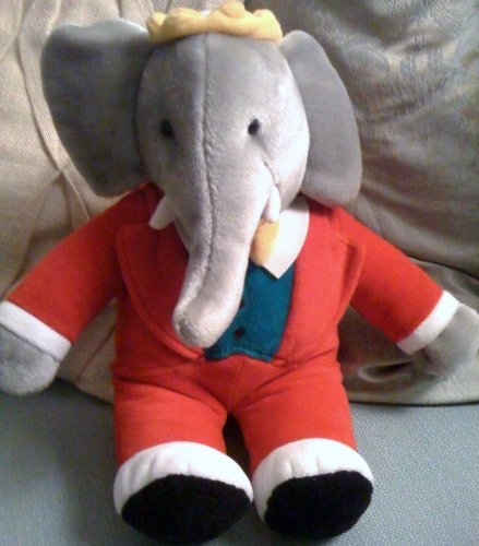 Amazon Com Babar Elephant 15 Plush Doll Toy By Unknown Toys Games