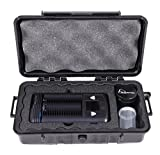 CLOUD/TEN Airtight Odor Resistant Carry Case For Storz and Bickel MIGHTY and Accessories - Fits Mighty and Free Dry Leaf Grinder and Herb Canister
