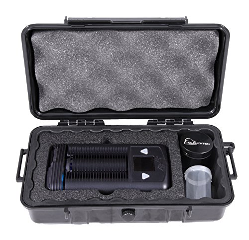 CLOUD/TEN Airtight Odor Resistant Carry Case For Storz and Bickel MIGHTY and Accessories - Fits Mighty and Free Dry Leaf Grinder and Herb Canister by CLOUD/TEN