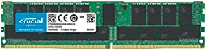 Crucial Technology 32GB DDR4 PC4-21300 2666MHz RDIMM, Dual Ranked Registered ECC Memory (CT32G4RFD4266)