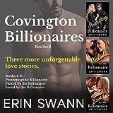 Covington Billionaires: Romance Series (3-Book Box Set): Books 4-6 (Covington Billionaires Box Sets 2)