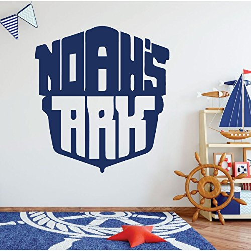 Whaling Boat (Noah's Ark - Christian Wall Art - Nautical Wall Decor - Nursery Room Decor - Home Decoration Boys Room, Kids Playroom Or Church Decor.)