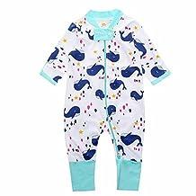 "Kids Tales ""Pineapple"" Footed Zipper Pajama Sleeper Cotton Romper(Size 4-24M)"