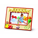 Russ Berrie Happy Birthday 4'' x 6'' Photo Frame (Discontinued by Manufacturer)