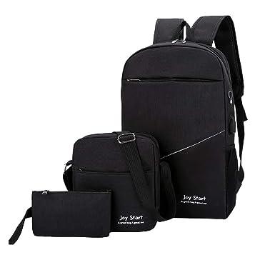 Amazon.com: Hunauoo Travel Backpack Unisex Version Couple ...